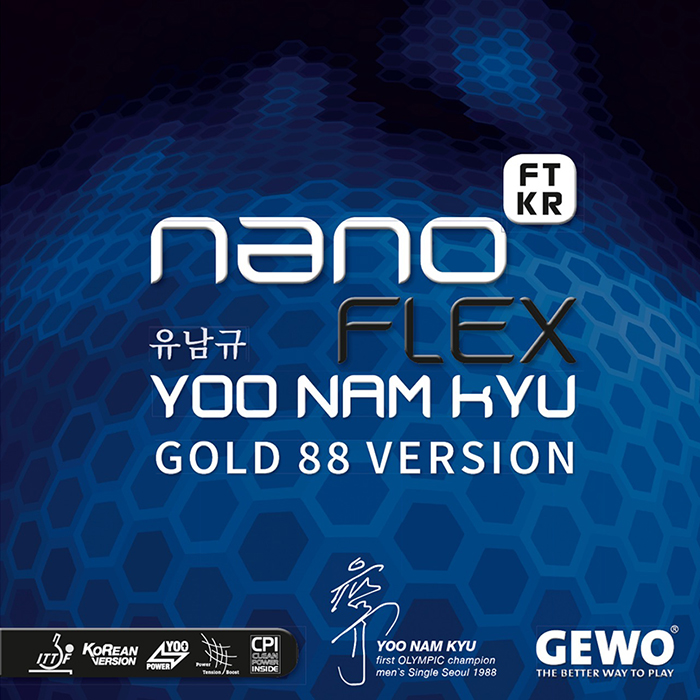 GEWO nanoFLEX FTKR YOO NAM KYU GOLD88 VERSION (레드)