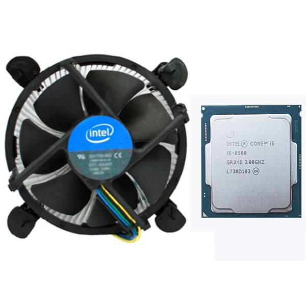 인텔 코어i5-8세대 8500 (커피레이크) (벌크 + 쿨러)