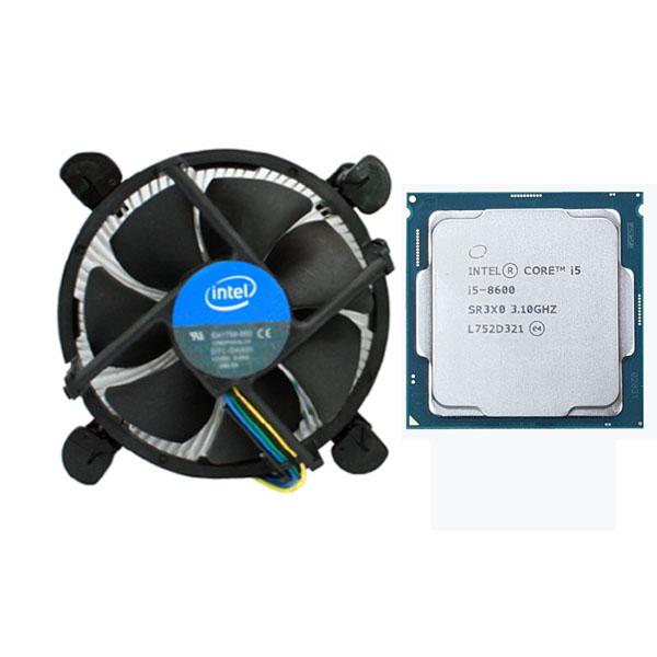 인텔 코어i5-8세대 8600 (커피레이크) (벌크 + 쿨러)