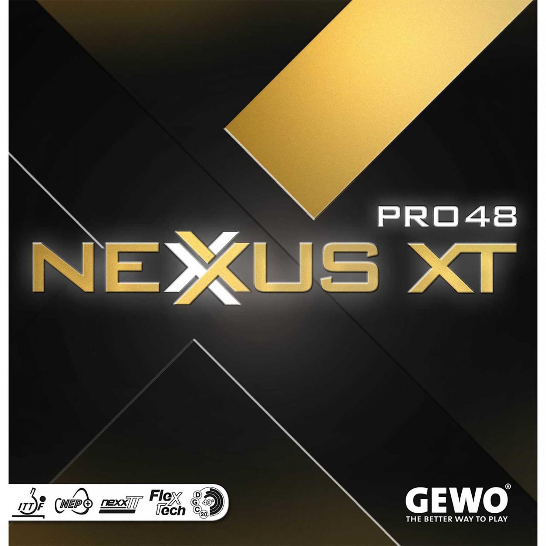 GEWO NEXUS XT PRO 48 블랙 러버