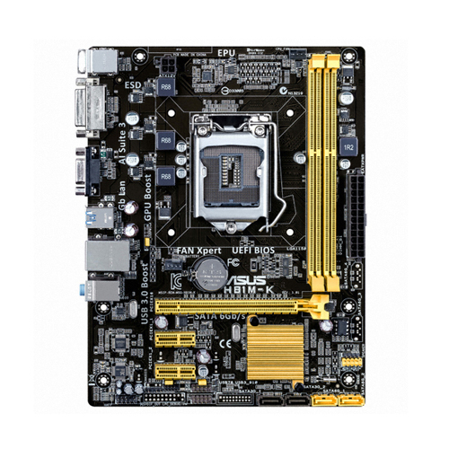 ASUS H81M-K (벌크) + DDR3 4G PC3-12800