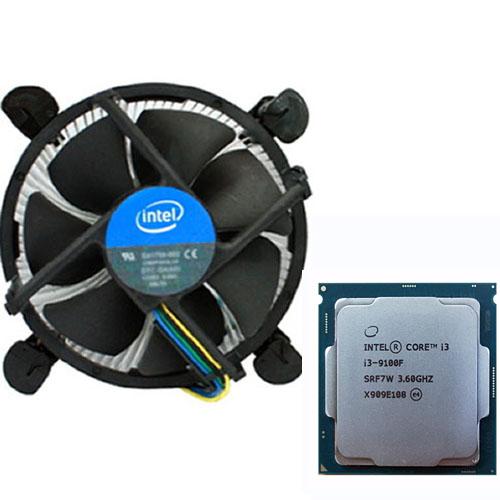 인텔 코어i3-9세대 9100F (커피레이크) 벌크 + 쿨러