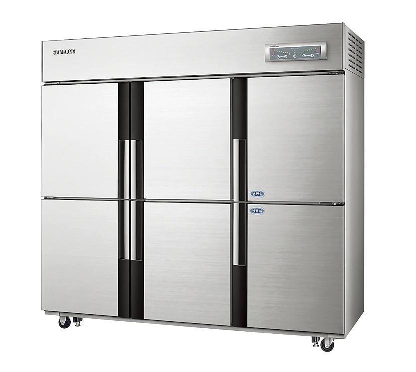 삼성 업소용 냉장고 1643L 실버 CRFD-1762 (사업자전용)