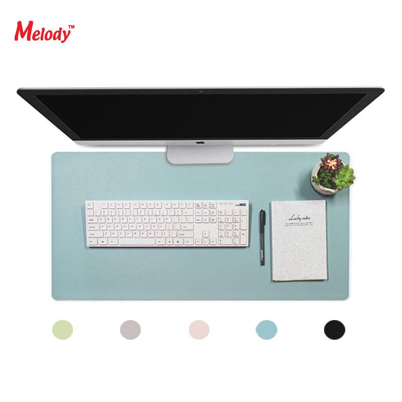 멜로디 친환경 가죽 데스크매트 장패드 MMP-800 블루