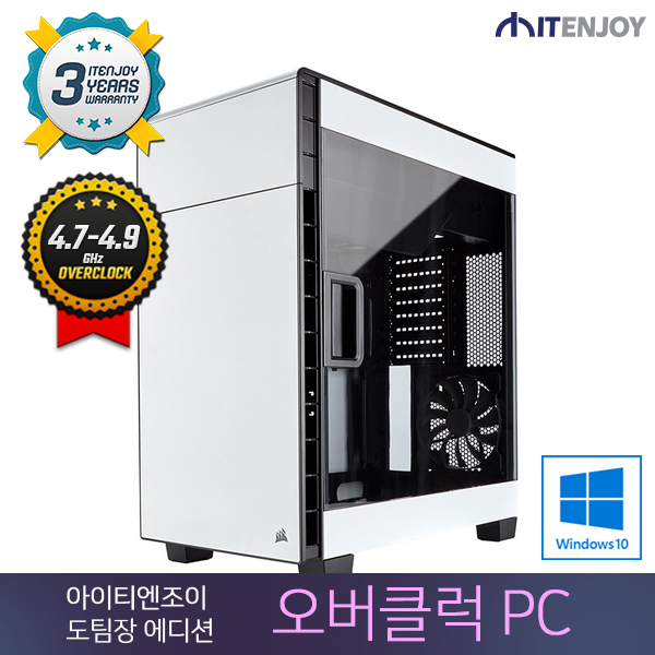 [O.C. Lab] 오버클럭PC 도팀장에디션 D2526 인텔 i7-7700K/32G/GTX1070/SSD/윈도우10/3년무상출장AS