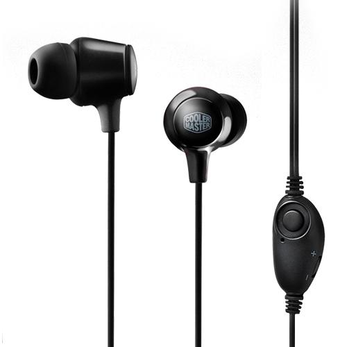 쿨러마스터 IN-EAR HEADSET HC-300 (Black)