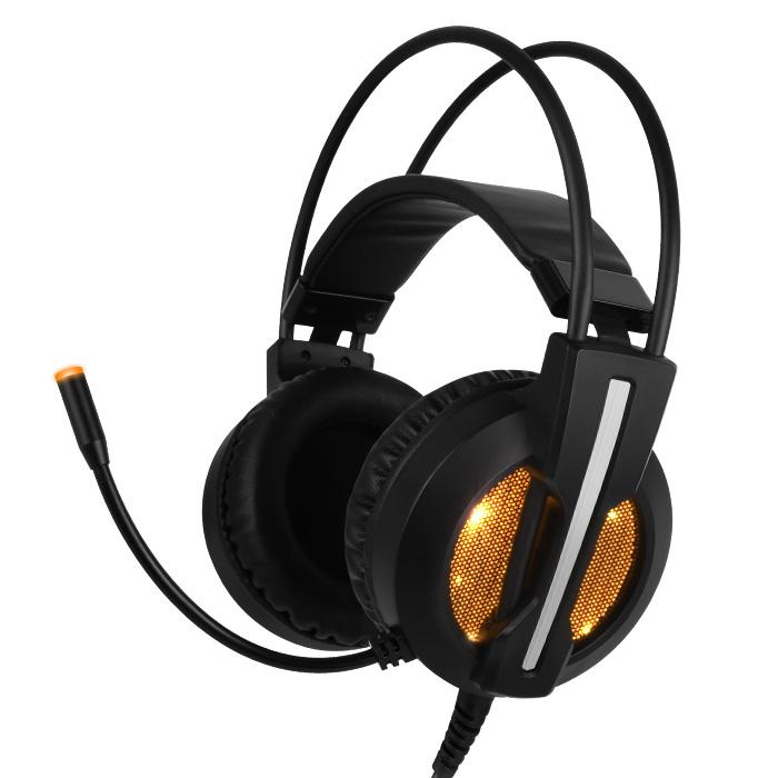 COX CH45 가상 7.1 진동 LED 게이밍 헤드셋