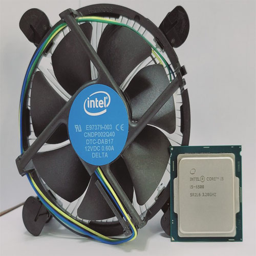인텔 코어i5-6세대 6500(중고) 스카이레이크 벌크+쿨러