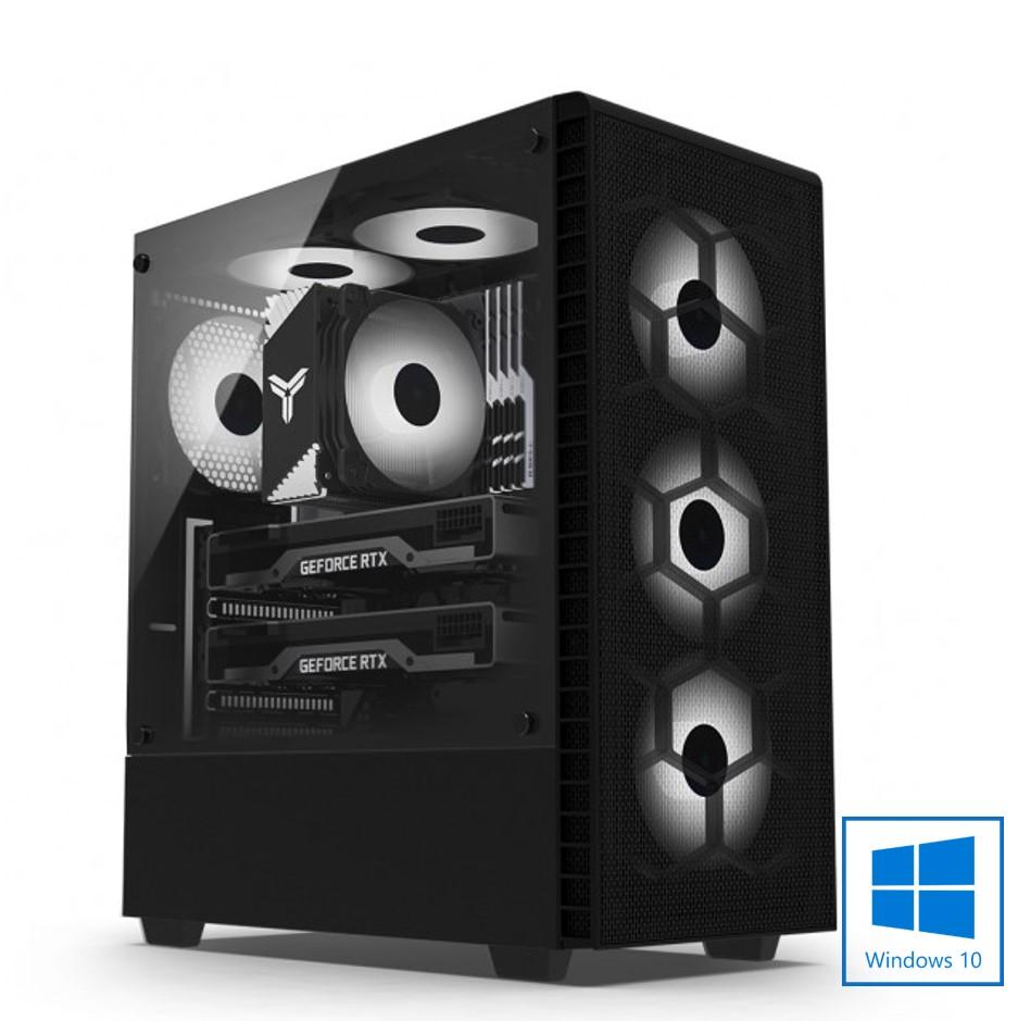MS 정품윈도우 탑재 DREAM 게임용 K3535 인텔 11세대 i5-11600/16G/RTX 2060/SSD/윈도우10/1년무상출장AS