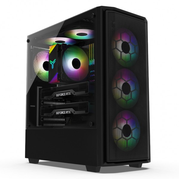 MS 정품윈도우 탑재 DREAM 게임용 K13635 인텔 10세대 i7-10700/16G/RTX 2060/SSD/윈도우10/3년보증(1년무상출장AS)