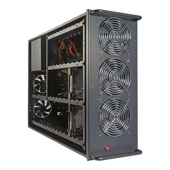Njoy 치아코인 파밍 전용 32베이 PC CHF32B